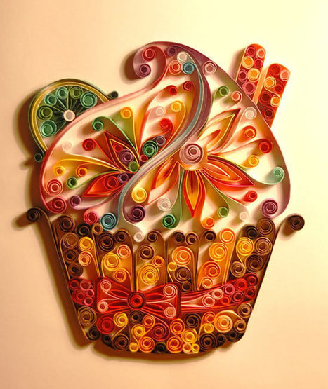 Quilling – The Art of Turning Paper Strips into Intricate Artworks | Socialart | Scoop.it