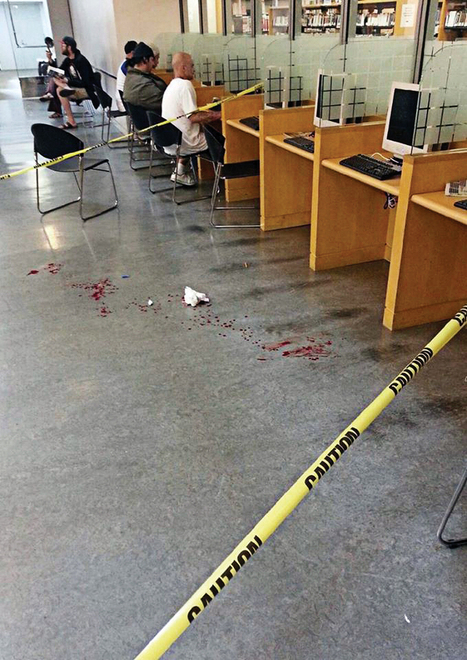 Man arrested on assault charges in bloody attack at San Francisco Main Library | Library Safety and Security | Scoop.it
