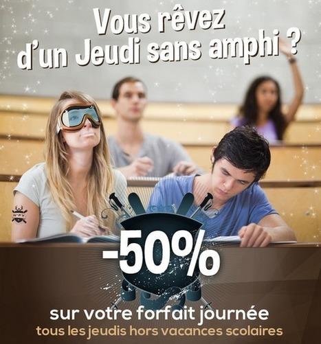 Avec la carte NPY Etudiant (gratuite) le forfait journée est à -50% les jeudis hors vacances ! | World tourism | Scoop.it