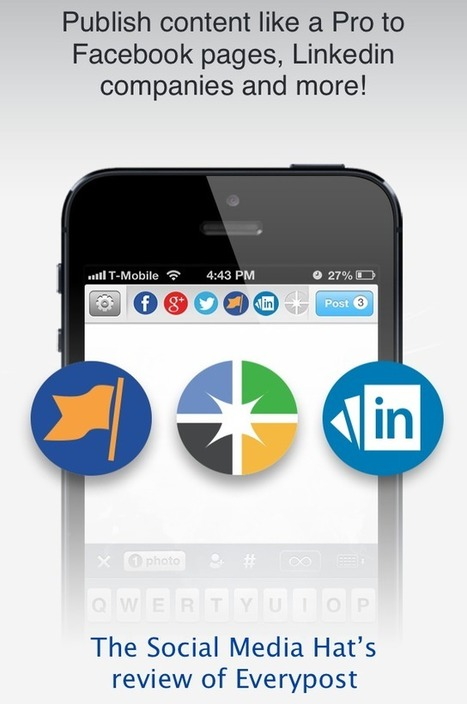 Everypost, the social media management tool, adds Facebook, LinkedIn and Google+ Pages | Marketing & Webmarketing | Scoop.it