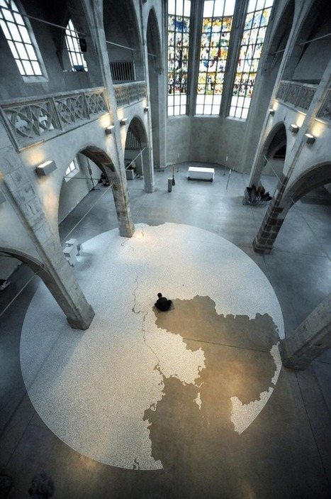 Motoi Yamamoto's Incredible Salt Mazes - My Modern Metropolis | Visual Inspiration | Scoop.it