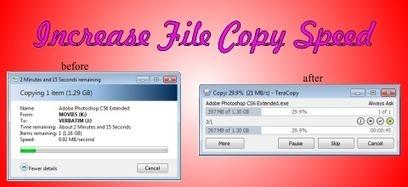 How to increase File Copy Speed in Windows | Nobitas World | Scoop.it