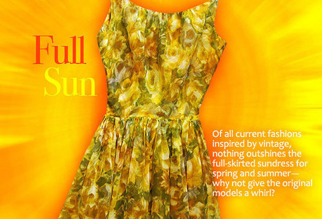 Vintage Fashion Guild : Spring 2013: Full Sun | Vintage and Retro Style | Scoop.it