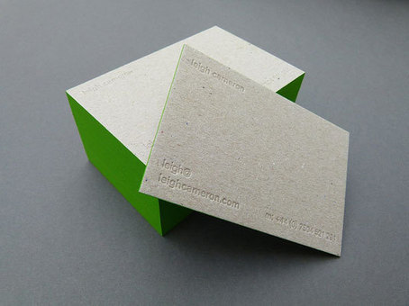 Inspiration | Letterpress business cards | Print design | timms brand design | Scoop.it