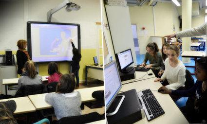 L'heure du numérique a sonné dans les écoles du bassin cagnois - Nice-Matin   Veille éducation numérique - DNE   Scoop.it
