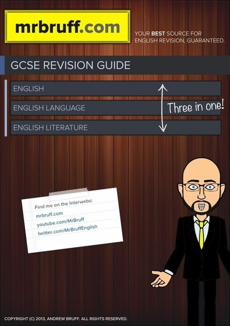 MrBruff.com | Free revision videos and eBook. | English Language GCSE | Scoop.it