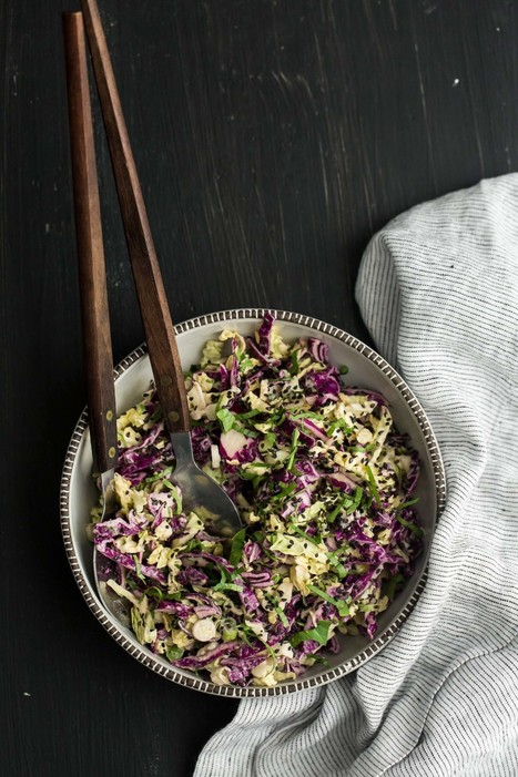 Tahini Cabbage Slaw | Life, styled | Scoop.it