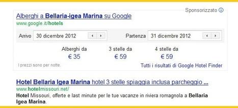 Il Nuovo Booking Engine di Google Hotel Finder fra gli annunci sponsorizzati in SERP | Pianeta Booking | Scoop.it