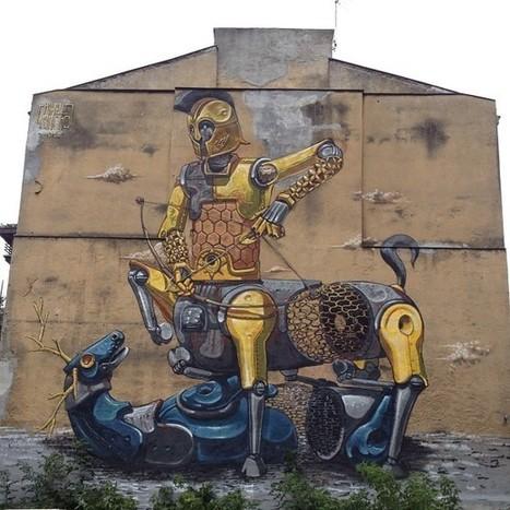Savage Habbit | Street Art Doping: Pixel Pancho | World of Street & Outdoor Arts | Scoop.it