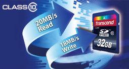 Transcend 32 GB Class 10 SDHC Flash Memory Card | Gadget World Store | Camera | Scoop.it