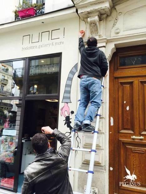Collage à la Nunc Gallery, Paris | Tarek artwork | Scoop.it