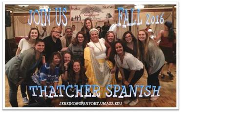 Apply Now For Thatcher Spanish FALL 2016! | The UMass Amherst Spanish & Portuguese Program Newsletter | Scoop.it