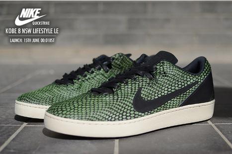 Où acheter la Nike Kobe 8 NSW Lifestyle Gorge Green ? | sneakers-actus.fr | Scoop.it