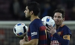 Luis Suárez hits four, Lionel Messi three as Barcelona rout Valencia - The Guardian | AC Affairs | Scoop.it