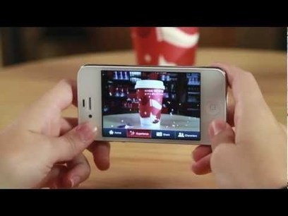 Starbucks lanza aplicación de realidad aumentada para navidad | Realidad aumentada | Scoop.it