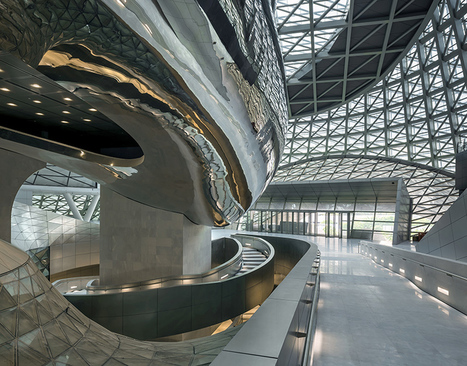 Impressive New Cultural Center in Shenzhen | Les malls & autres grands projets | Scoop.it