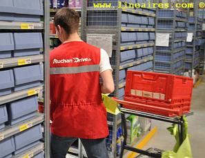Auchan Drive prépare les commandes dans l'heure / Les actus / LA DISTRIBUTION - LINEAIRES, le magazine de la distribution alimentaire | Digital | Scoop.it