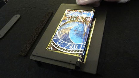 Tri-Fold Touchscreen OLED Could Give You Way More Smartphone Real Estate | Five Regions of the Future | Scoop.it