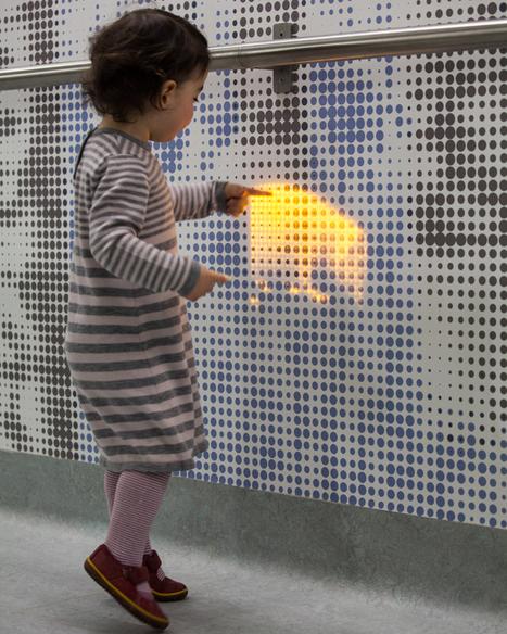 Interactive installation at children's hospital by jason bruges studio. | Interactive Arts | Scoop.it