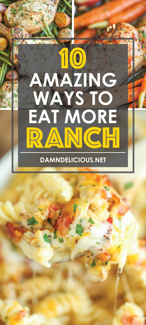 10 Amazing Ways to Eat More Ranch | ♨ Family & Food ♨ | Scoop.it