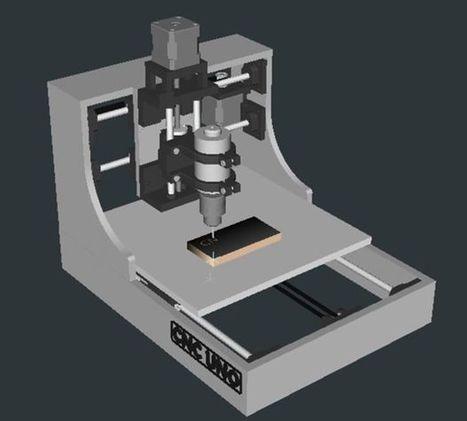 3D Printed Desktop CNC mill | Digital Fabrication | Scoop.it
