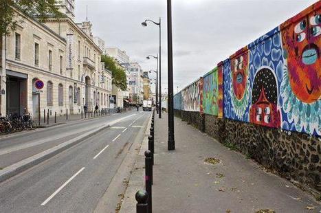 Station «Rosa Parks»: une fresque géante de street-art à Paris @ceriseonthecake   Richard and Street Art   Scoop.it