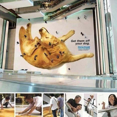 20 publicités créatives et hors du commun | streetmarketing | Scoop.it