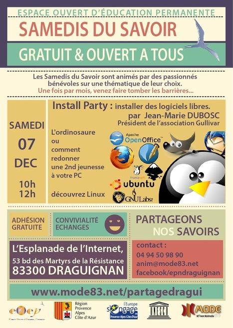 Install Party, ou comment dompter son ordinosaure... | bib & actualités numériques | Scoop.it