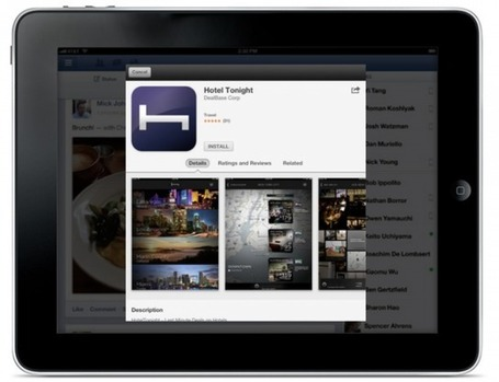 Facebook iOS App Now Allows You to Install Apps Directly from Ads - Mobile Magazine | MobileandSocial | Scoop.it