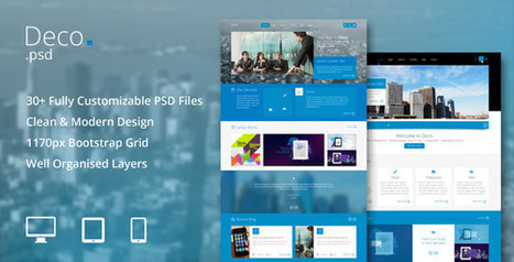 Deco (Business) | Best HTML Themes | Scoop.it