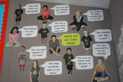 Check out out Class Rules! | EDCI397 Classroom Climate Plan | Scoop.it