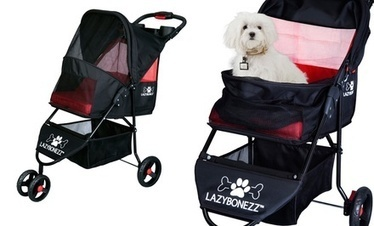 LazyBonezz Lazy Jogger Pet Stroller. Free Shipping and Returns. | Dog Strollers For Small Dogs | Scoop.it