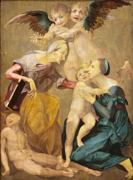 Rosso Fiorentino: la Sacra Famiglia o allegoria della salvezza | Capire l'arte | Scoop.it