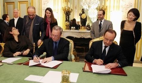 François Hollande annonce un accord entre Google et une partie de la presse française. | Brocooli | Scoop.it