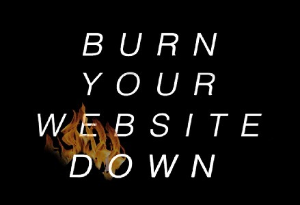 Disruptive Ecommerce Burn Your Website Down via @HaikuDeck #setyourstoryfree | Design Revolution | Scoop.it
