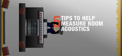 5 Tips to Get You Started Measuring Your Studio Room's Acoustics | independent musician resources | Scoop.it