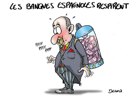 Les banques espagnoles respirent ! | Baie d'humour | Scoop.it
