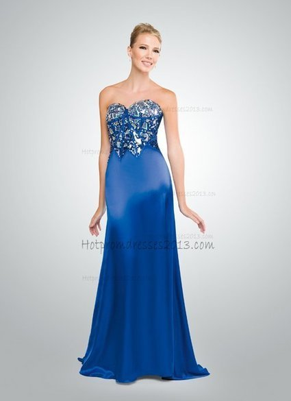 Sweetheart Blue Floor Length Prom Gown online [Blue Floor Length Prom Gown online] - $198.00 : Discount Dresses for Prom 2013,Up 50% Off   fashion   Scoop.it