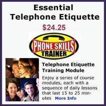 Office Skills - Telephone Etiquette and Telephone Tips | It's Just Business | Scoop.it