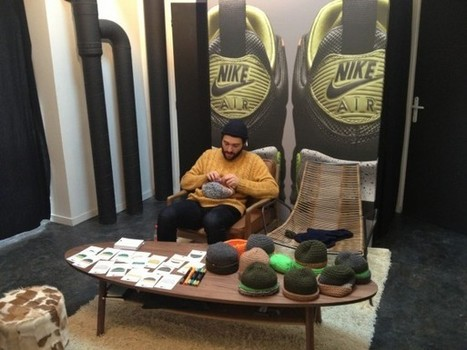 Nike présente sa nouvelle collection SneakerBoots dans un chalet à Montmartre | Actualite chaussure | Scoop.it