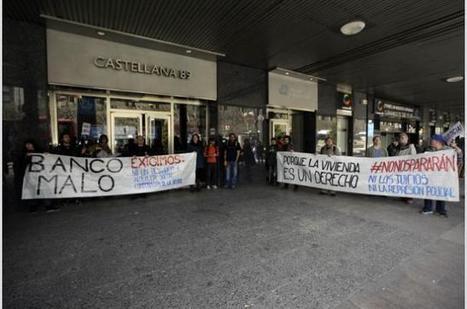 Condena a un policía por lesiones a manifestantes durante el escrache de la Sareb | Periódico Diagonal | Movimiento 15M España | Scoop.it