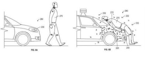 Une Google Car scotchante, littéralement | Post-Sapiens, les êtres technologiques | Scoop.it