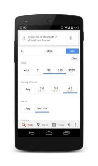 Google Restaurants Filter By Price, Ratings, Cuisine & Hours   Digital-News on Scoop.it today   Scoop.it