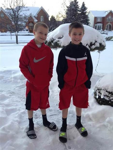 It's freezing, but boys just want to wear shorts! Should you let them? | Kickin' Kickers | Scoop.it