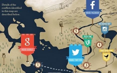 La guerra dei social media. In stile Trono di Spade - MAG - Sky.it | Condivisione e Viralità | Scoop.it