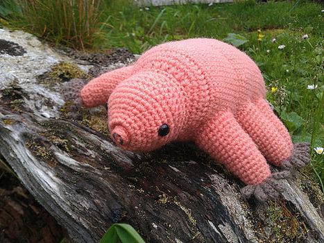 Tardigrade (water bear) - crochet pattern PDF | Tardigrades | Scoop.it