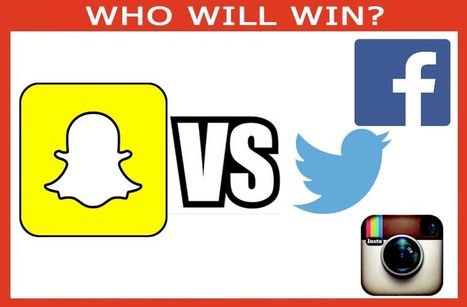 Snapchat Vs FaceBook Vs Twitter Vs Instagram, Who's The KING?! | COMMUNITY MANAGEMENT - CM2 | Scoop.it