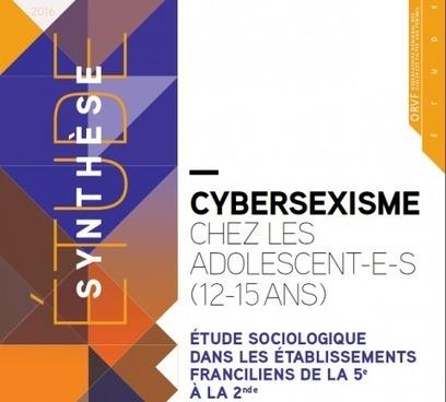 Cybersexisme chez les adolescent-e-s -12-15 ans   Veille numérique sur l'adolescence   Scoop.it