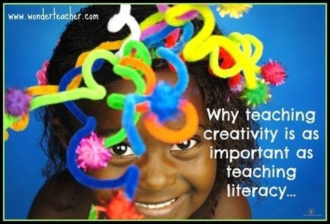 Is Creativity as important as literacy?   wonderteacher.com   Socratic Seminar   Scoop.it