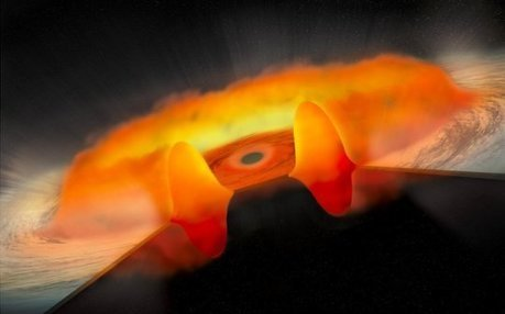 A group of unusual black holes is consuming excessive amounts of matter at a rapid rate | Amazing Science | Scoop.it